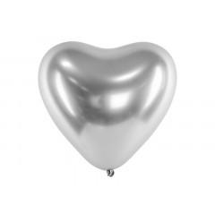ballon-coeur-argent