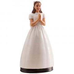 Figurine communion fille classique 15 cm
