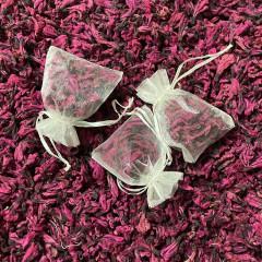 Confetti fleurs séchées + enveloppe