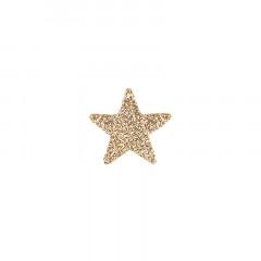 Confettis étoiles paillettes or x120 2,5 cm cm