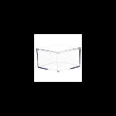 contenant dragées plexiglass rectangle