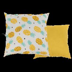 Coussin ananas - 40 cm x 40 cm pas cher