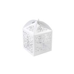 boîte à dragée carton dentelle