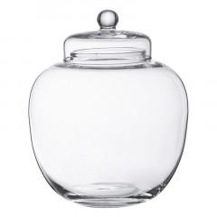 Bonbonnière en verre boule 20 x 17.5 cm