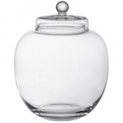 Bonbonnière boule en verre - 25 x 21.5 cm