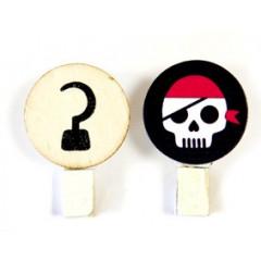 6 pinces pirate