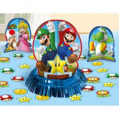 Décoration de table Mario Bros
