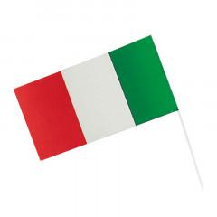 Drapeau italien en plastique