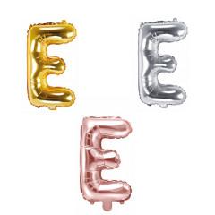 Ballon lettre E - 36cm - coloris au choix