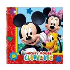 20 serviettes Playful Mickey - 33 x 33 cm