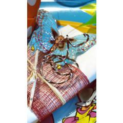 Fil alu bicolore - chocolat