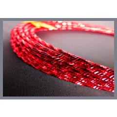 Fil alu torsadé - rouge