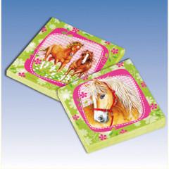 "20 serviettes collection ""Cheval"""