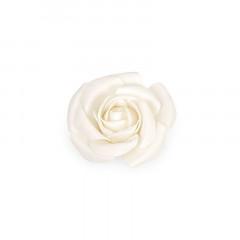 Fleur décorative 13 cm ivoire