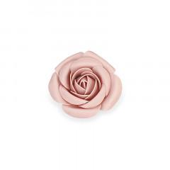 Fleur décorative 15 cm rose