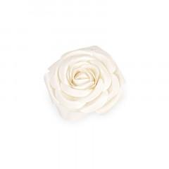 Fleur décorative 20 cm ivoire