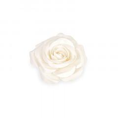 Fleur décorative 50 cm ivoire