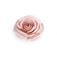 Fleur décorative 50 cm rose