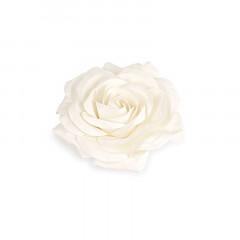 Fleur décorative 70 cm ivoire