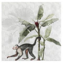 Serviette jungle tropicale