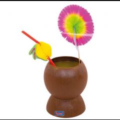 Gobelet Hawaï noix de coco ouverte