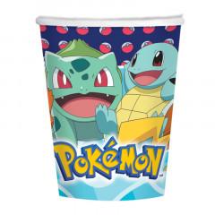 gobelets anniversaire Pokemon x8