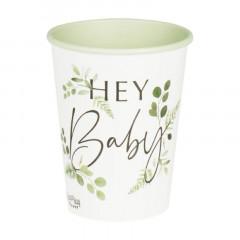 gobelets baby végétal x 8