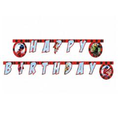 guirlande anniversaire miraculous ladybug