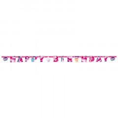 Bannière Happy Birthday Mon Petit Poney