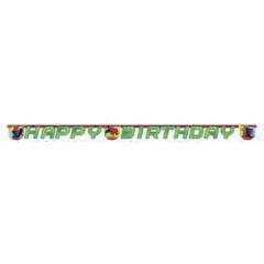 Guirlande Happy Birthday Ultimate Spiderman