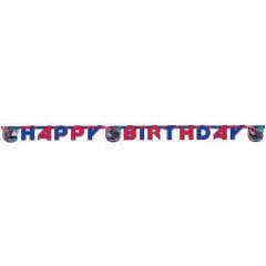 Guirlande Happy Birthday The Amazing Spiderman
