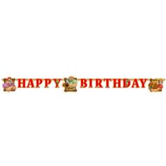 "Guirlande ""Happy birthday"" Pirates Disney"