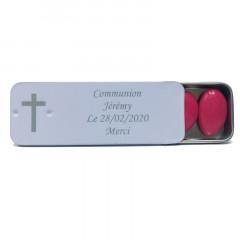 Boite à dragée personnalisée croix
