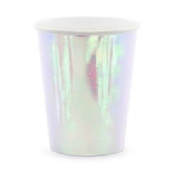 Gobelet en carton iridescent