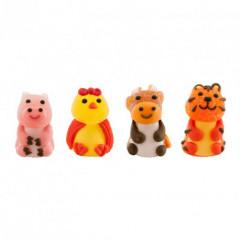 Figurines en sucre animaux de la ferme