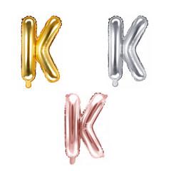 Ballon lettre K - 36cm - coloris au choix