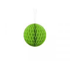 Boule chinoise alvéolée vert pomme - 40 cm