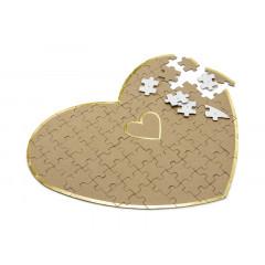 Livre d'or coeur puzzle