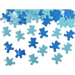 Confettis décoratifs - Ours bleu