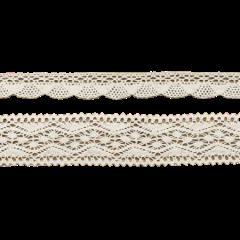 dentelle coton ivoire