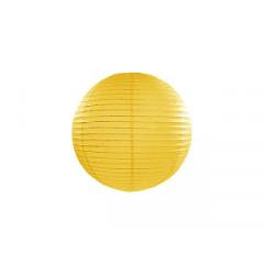 lampion papier jaune