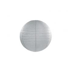 Lampion papier gris 25 cm