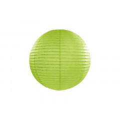Lanterne vert pomme - 25 cm