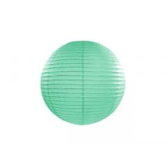 Lanterne menthe - 25 cm