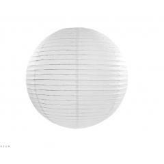Lampion mariage blanc 55 cm