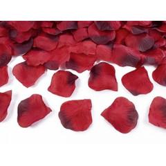 100 pétales de rose – rouge foncé