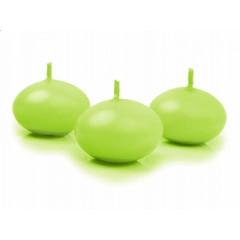 Bougie flottante - vert anis