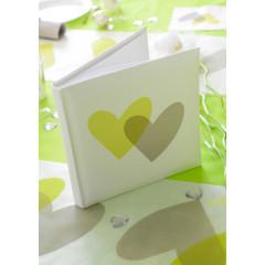 Livre d'or Coeur vert