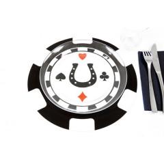 Lot 2 sets de table Casino 30 cm