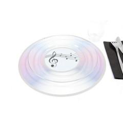 Lot 2 sets de table CD laser 30 cm